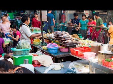 Spaziergang durch Chinatown-Yangon | Myanmar