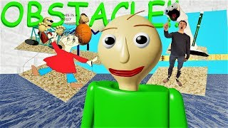 BALDI'S OBSTACLE COURSE IS FLOODED!! (not roblox srsly..) | Baldi's Basics Decompile