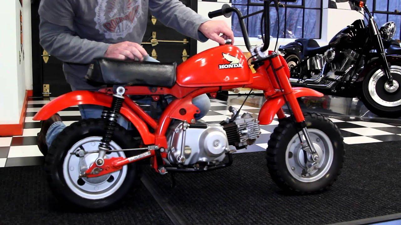 1979 Honda Z50r Youtube