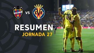 Resumen de Levante UD vs Villarreal CF (0-2)