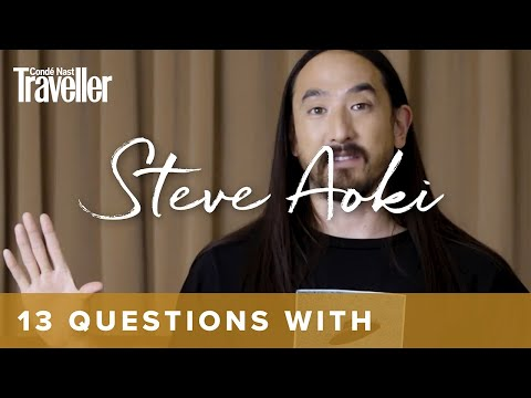 13 Questions with... Steve Aoki, the world's most-travelled musician | Condé Nast Traveller