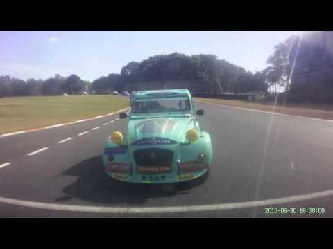 Brands 30 6 13 Race 2 Nick Clarke In Car Rear Facing