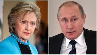 Vladimir Putin and Hillary Clinton, From YouTubeVideos