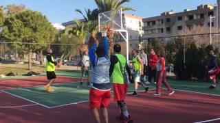 3x3 basketball İzmir Cup yarı final maçı TNT vs Team Reborn