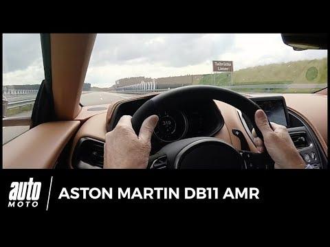 Aston Martin DB11 AMR - POV : 0-319 km/h