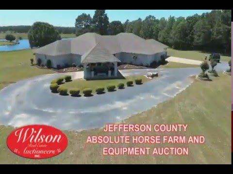 JEFFERSON COUNTY ABSOLUTE 100+/- ACRE HORSE FARM, EQUIPMENT, AUTO & TOOLS AUCTION ~ PINE BLUFF, AR
