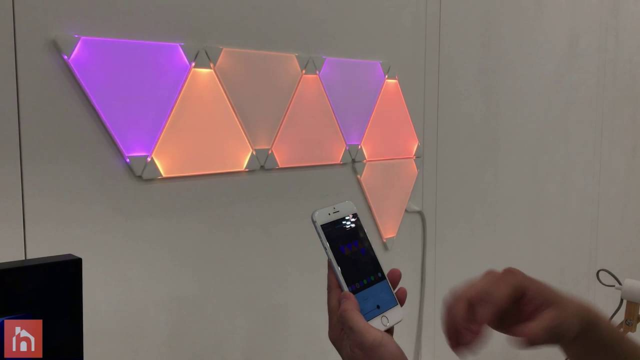 Aurora Led Light Panels From Nanoleaf Youtube