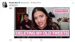 NOBODY ASKED EP 1: Deleting My Old Tweets 🤭