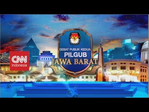 Live! Debat Publik Kedua Pilgub Jawa Barat