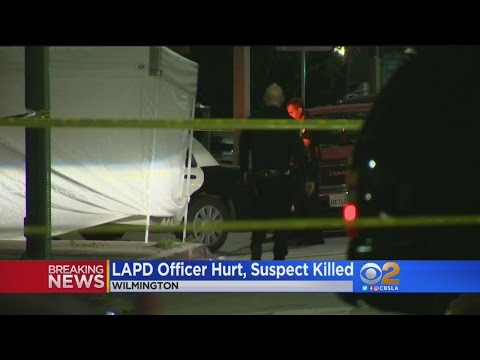 Los Angeles Police Officer Injured While Responding To Shooting In Wilmington, Suspect Killed