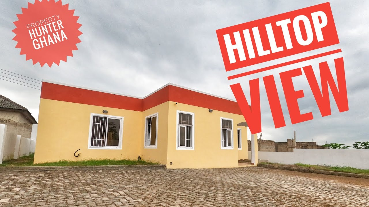 3 Bedroom House in Nsawam For Sale ll Hill Top View ll Ghc 420,000 Negotiable