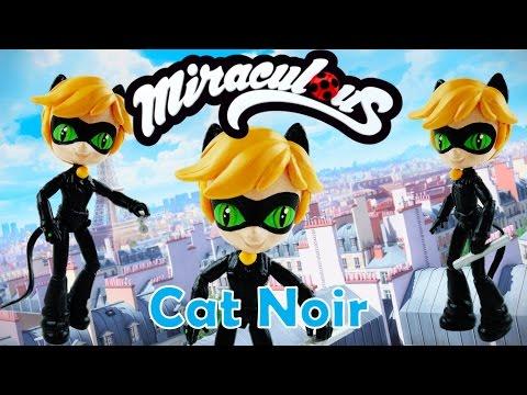 CAT NOIR - CHAT NOIR - Miraculous Ladybug My Little Pony Custom Doll DIY from Equestria Girls Mini