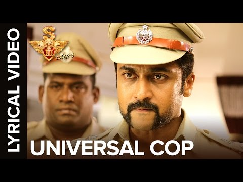 🎼Universal Cop | Lyrical Video | S3 -...