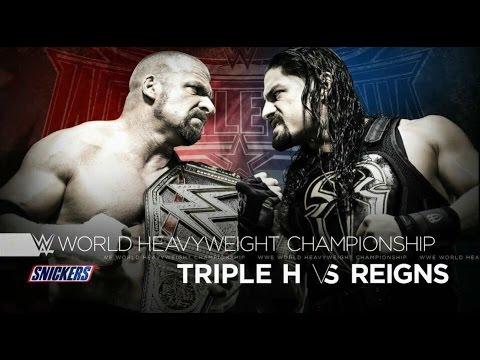 WWE Wrestlemania 32! [WWE 2K16 Simulation] #WrestleMania