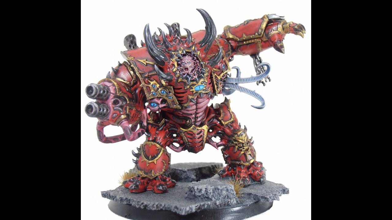 Mortis Metalikus  Hellbrute Crimson Slaughter  Dark Vengeance  Warhammer 40k  YouTube