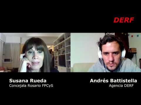 Susana Rueda: Los incendios ya son una mojada de oreja
