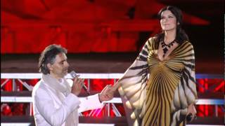 Andrea Bocelli e Laura Pausini - Dare To Live.mp4