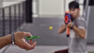 Download Fidget Spinner Trick Shots | Dude Perfect Mp3 and Videos