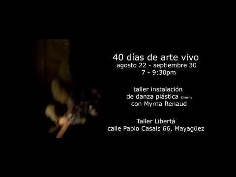 Se avecina cuarentena artística en Taller Libertá