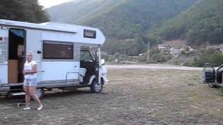 De la Sovata la Sebes ( Capilna off camping )