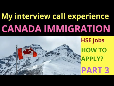 How to get health & Safety jobs in Canada My interview call experience Job portals to apply for jobs
