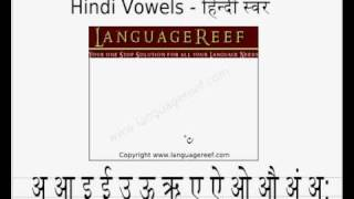Learn to write Hindi Alphabets