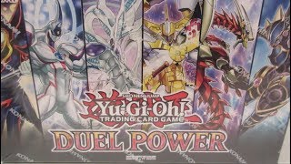 Yugioh DUEL POWER BOXES OPENING! INSANE LUCK!