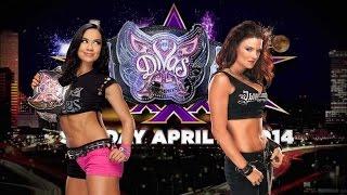 WWE Lita VS AJ Lee Women westling - مصارعه حرة حريمي - لعبة مصارعه حرة نسائية 2014