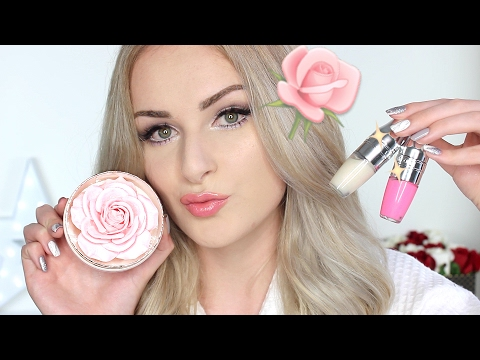 Trying Lancome Rose Makeup | Chatty GRWM!