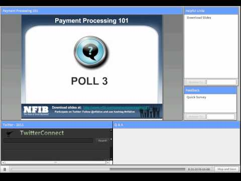 Webinar: Payment Processing 101 for Small Business