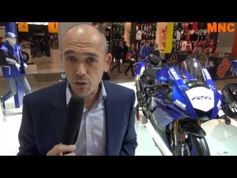 Les nouveautés Yamaha 2017 avec Vincent Thommeret - Interview vidéo