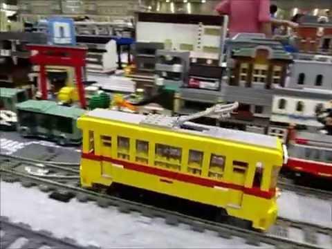 Lego Train in JAM 2016