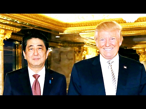 President Donald Trump and Japanese Prime Minister Shinzo Abe Joint Press Conference 2/10/17