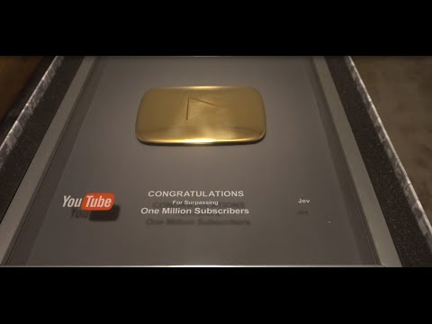 how to get a golden play button
