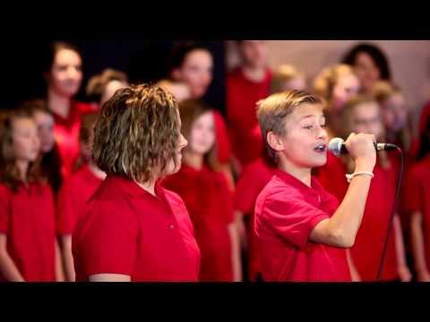 One Voice Children's Choir in B98.7's Studio B