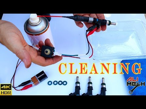 FUEL INJECTOR  CLEANING, less than $5