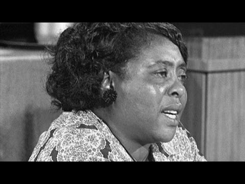 Fanny Lou Hamer Challenged Corporate Dems in 1964