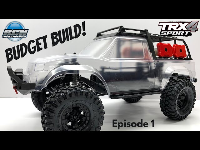Budget Build / EP1 - Traxxas TRX-4 Sport Kit - How it Assembles