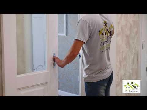 Выполнен ремонт двух комнатной квартиры в городе Новороссийске