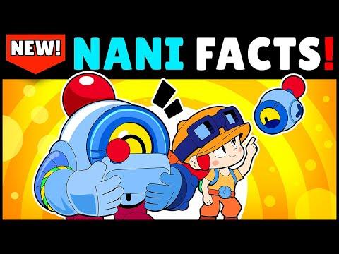 25 NANI FACTS You Shouldn't Miss! Before Release | Brawl Stars Unlocking Nani Gameplay