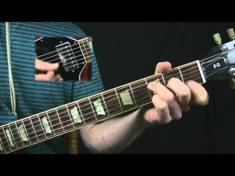 Gothic Guitar Lesson - Fields of the Nephilim Style -