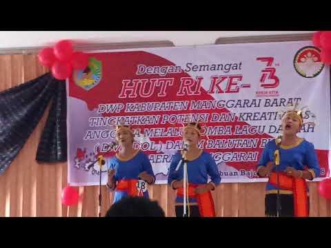 Lagu Manggarai (Juara I Vocal Group) menyambut HUT RI ke 73