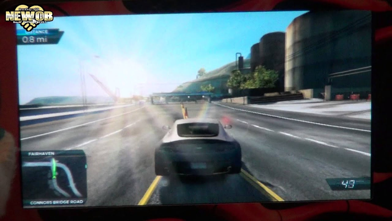 PS Vita - Need For Speed Most Wanted - YouTube