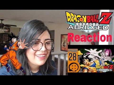 Dragon Ball Z Abridged Episode 28 Reaction