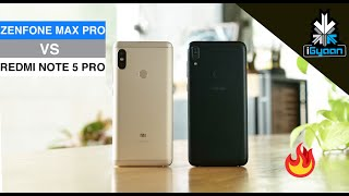 Asus Zenfone Max Pro Vs Xiaomi Redmi Note 5 Pro The Real Comparison