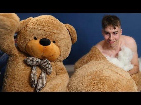I Got Inside A Giant Teddy Bear