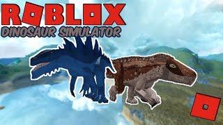 Roblox Dinosaur Simulator - KAIJU BARYONYX AND FASOLASUCHUS! QUICK LOOK!