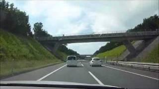 道央道 バレバレの覆面パトカー