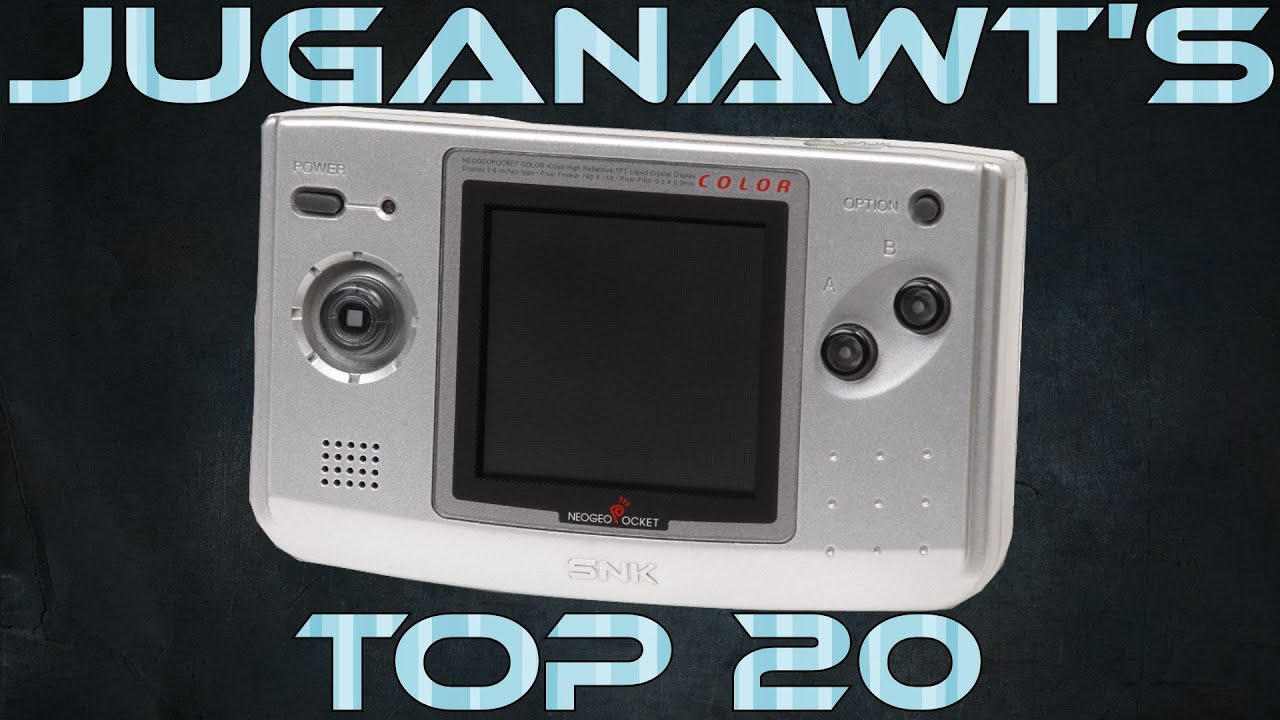Top 20 Neo Geo Pocket Color (NGPC) Games of all Time! (HD 1080p 60 FPS) - YouTube