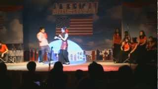 america from west side story performed by the hs glee club